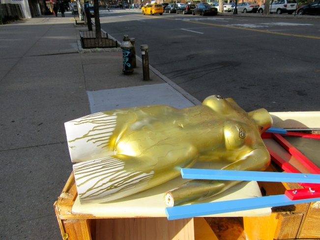 Gold Mannequin Torso 1