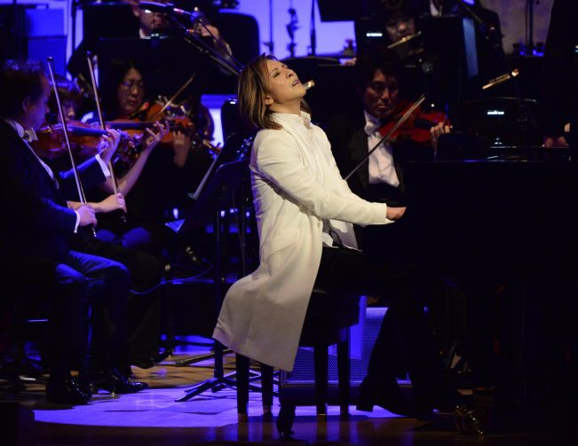 Yoshiki at Carnegie Hall