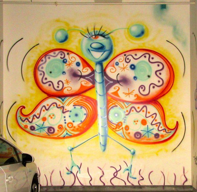 Kosmic Krylon Garage Butterfly