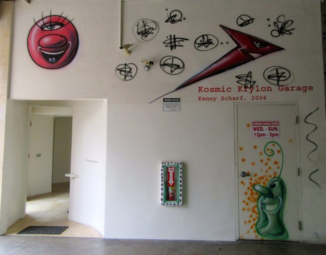 Kosmic Krylon Garage Signage