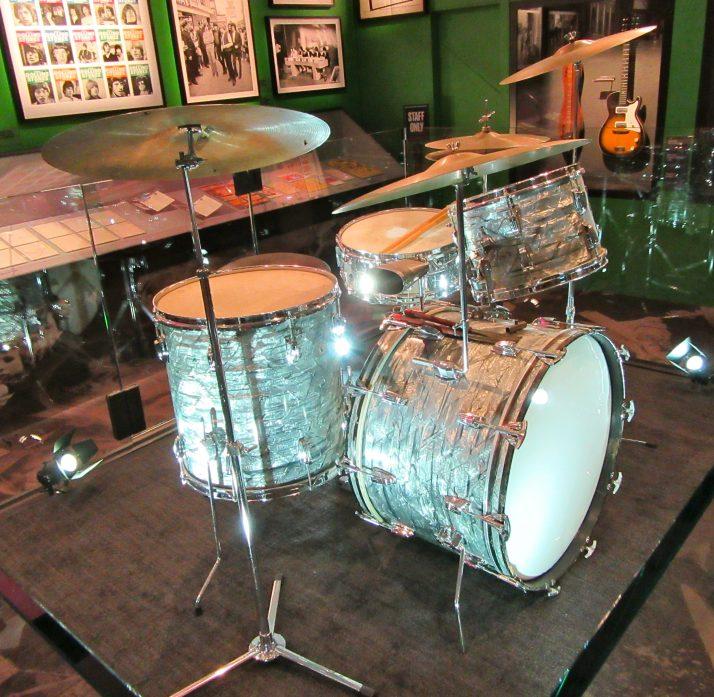 Charlie Watts Drumkit Side