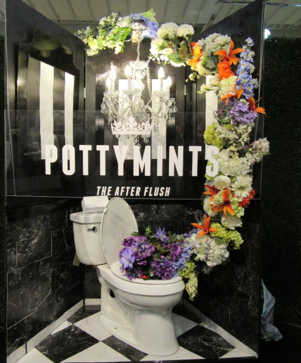 Potty Mints Booth Display