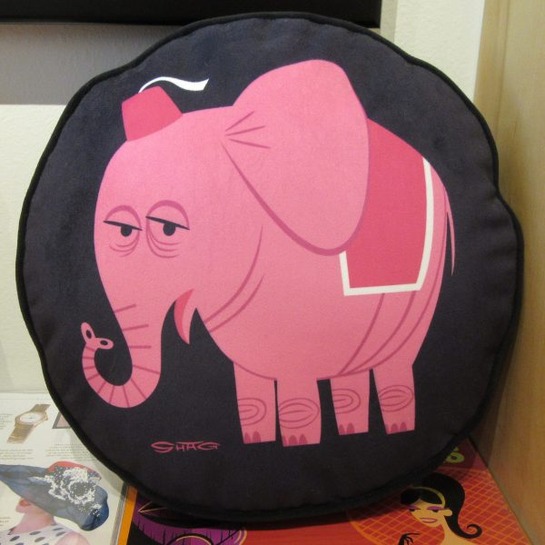 Pink Elephant By Shag