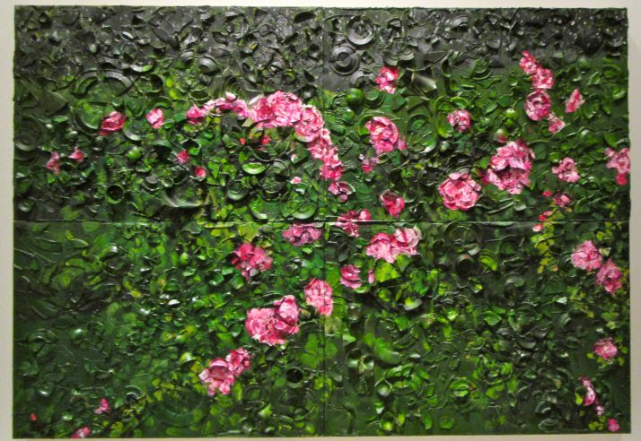 Rose Painting Near Van Goghs Grave