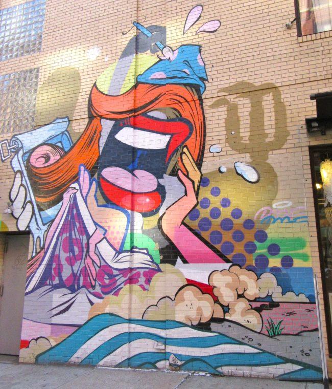 Pose MSK Mural