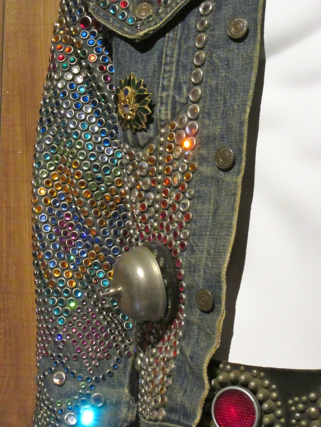 Studded Levis Denim Jacket Detail