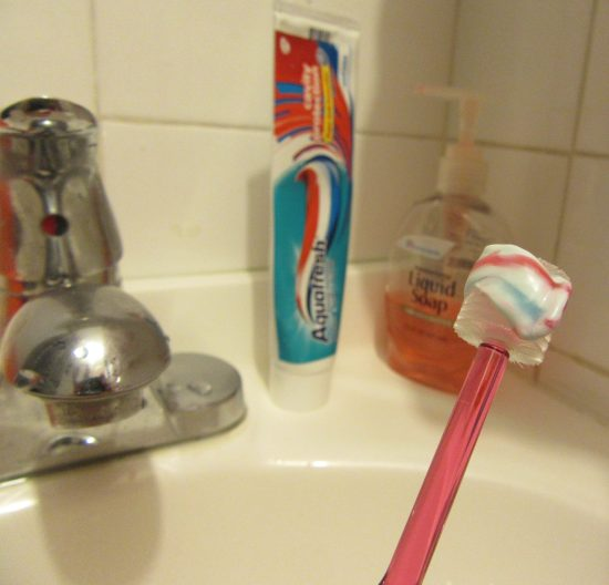 360 Toothbrush in Action