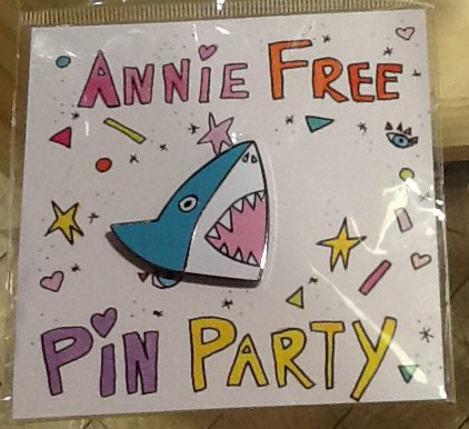 Shark Attack Pin Party