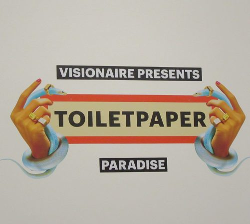 Toiletpaper Paradise Signage