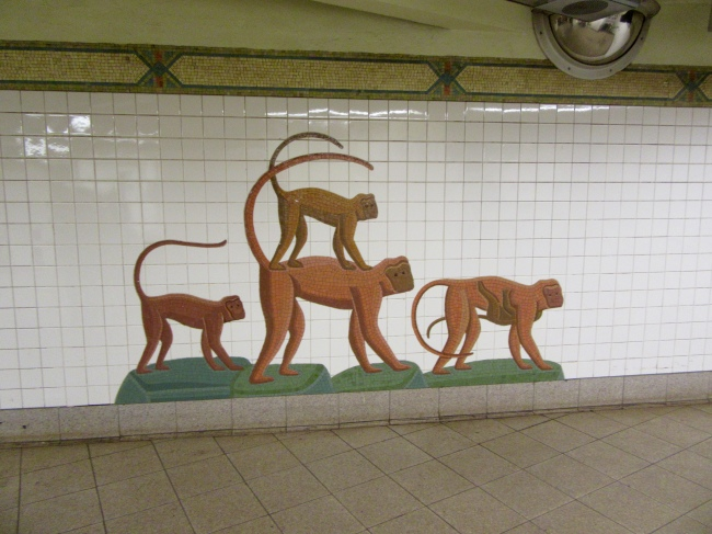 Mosaic Tile Monkeys