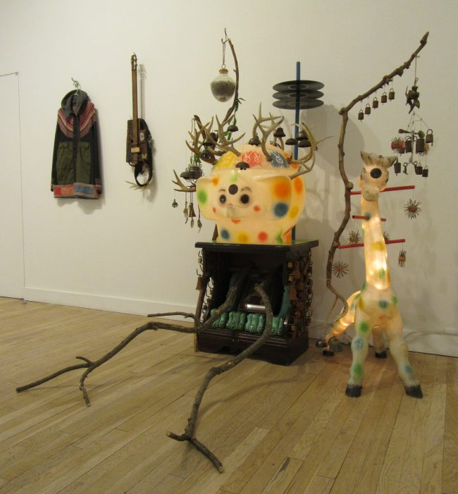 Elephant and Giraffe Installation View