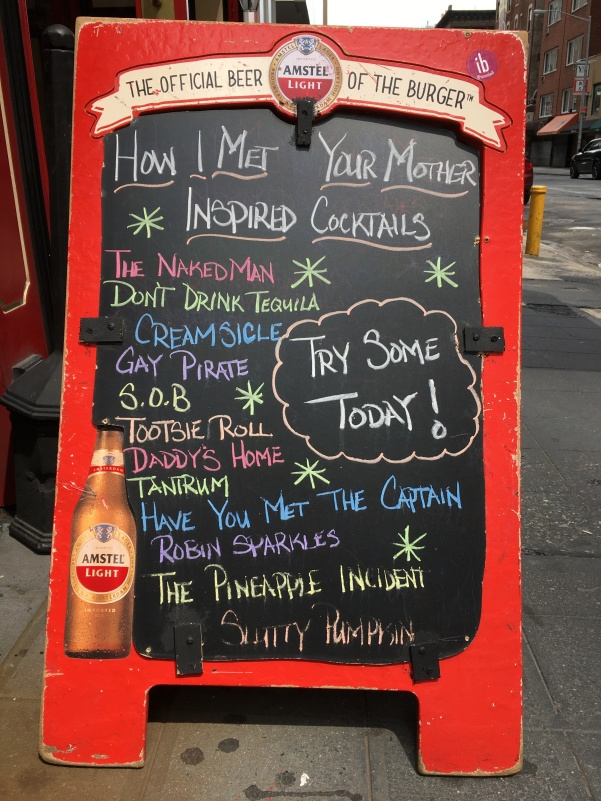 How I Met Your Mother Cocktails