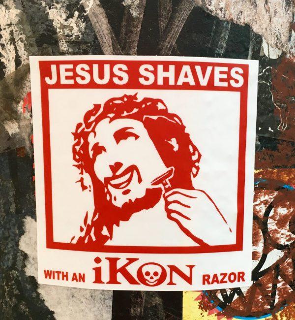 Jesus Shaves