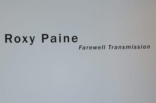 Roxy Paine Signage