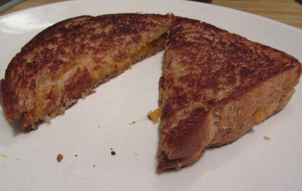 Grilled Cheese Sandwich on Soft Wheat