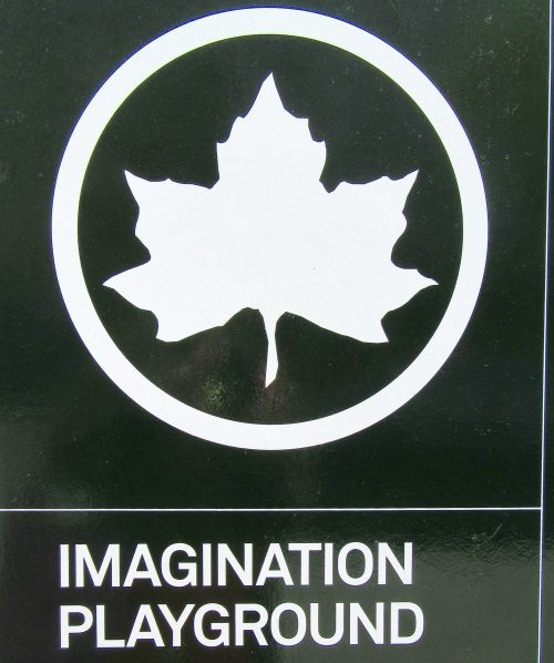 Imagination Playground Signage