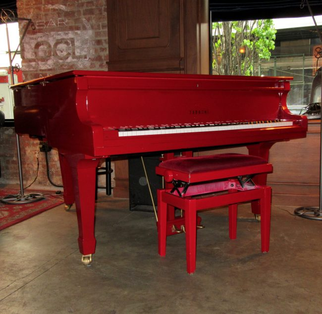Red Piano 1