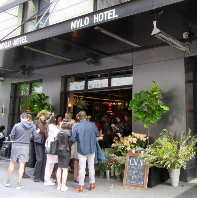 Nylo Bar Entrance