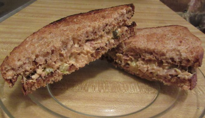 Cheesy Tuna Melt Sandwich