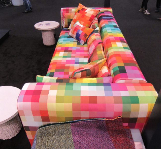 Pixel Sofa Lengthwise View