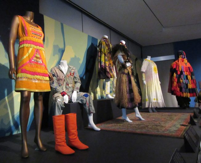 Acid Test Dress and Boots Installation View