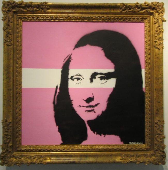 Mona Lisa Pink