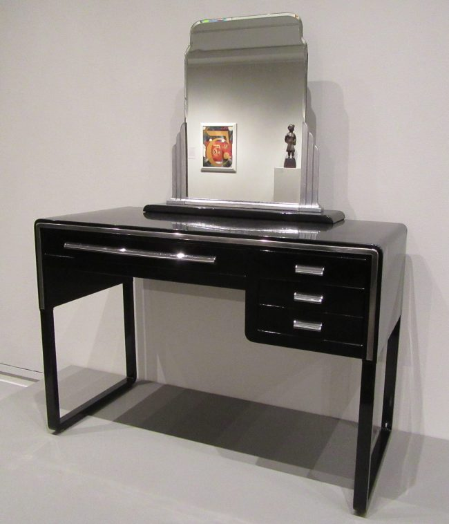 Dressing Table and Mirror Norman Bel Geddes