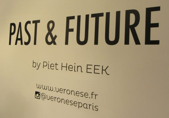 Past and Future Collection Signage