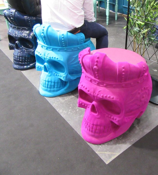 3 Calavera Chairs
