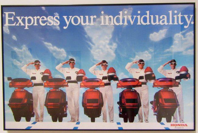DEVO Honda Scooter Ad