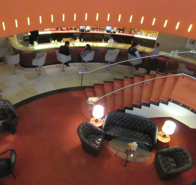 View Down to Lounge