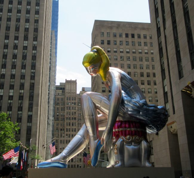 Jeff Koons Seated Ballerina