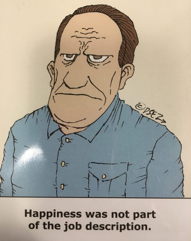 No Happiness