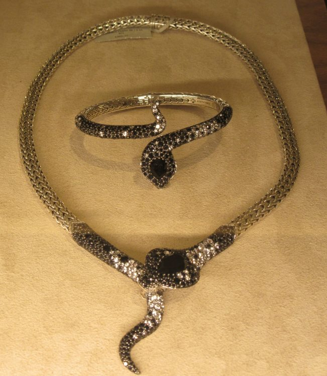 Legends Cobra necklace and Bracelet