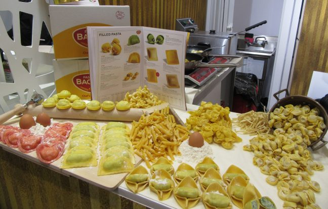Bacchini Pasta Display