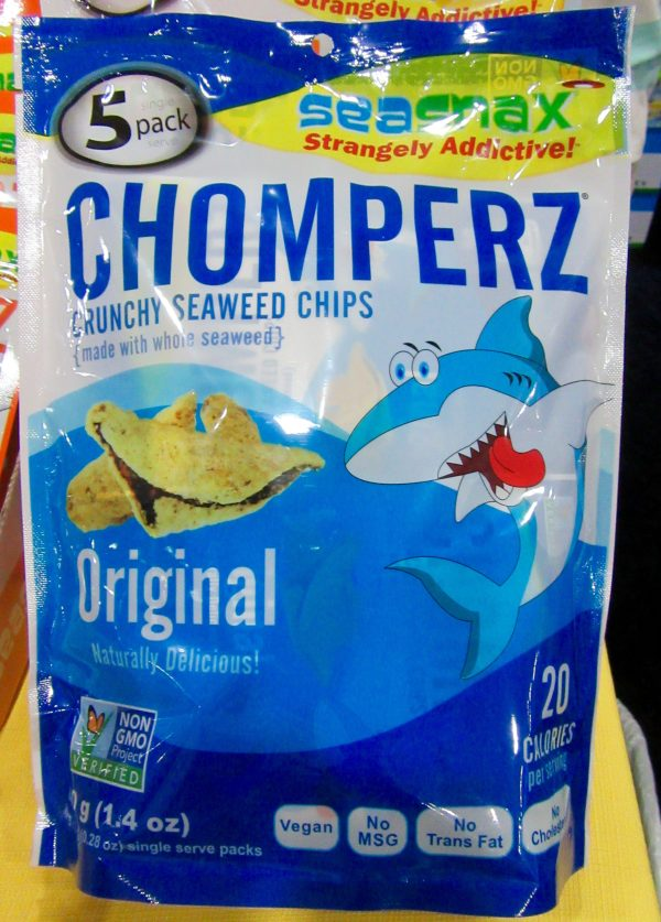 Chomperz Seaweed Chips