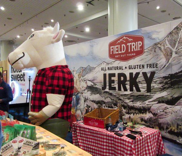Field Trip Jerky Bull Mascot