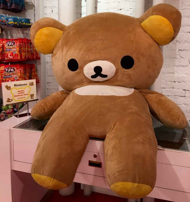 Giant Rilakkuma Plush Bear