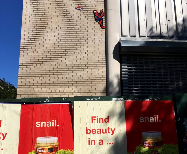 Spiderman Tile Mosaic
