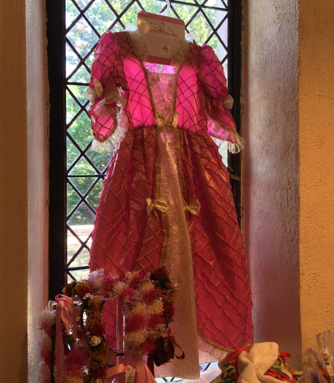 Pink Medieval Child Dress