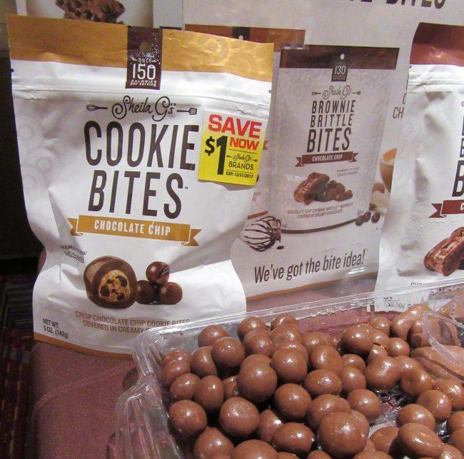 Brownie Brittle Cookie Bites