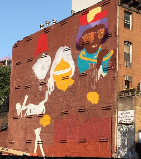 Os Gemeos Mural Eastern Face Week of Sept 9