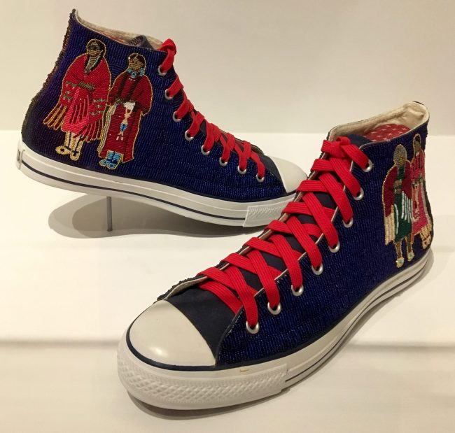 Beaded Sneakers By Teri Greeves