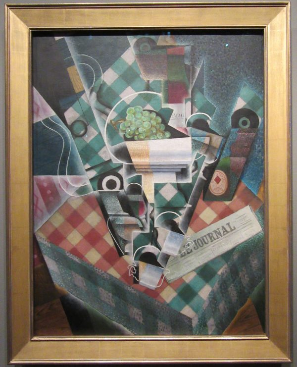 Still Life with Checked Table Cloth