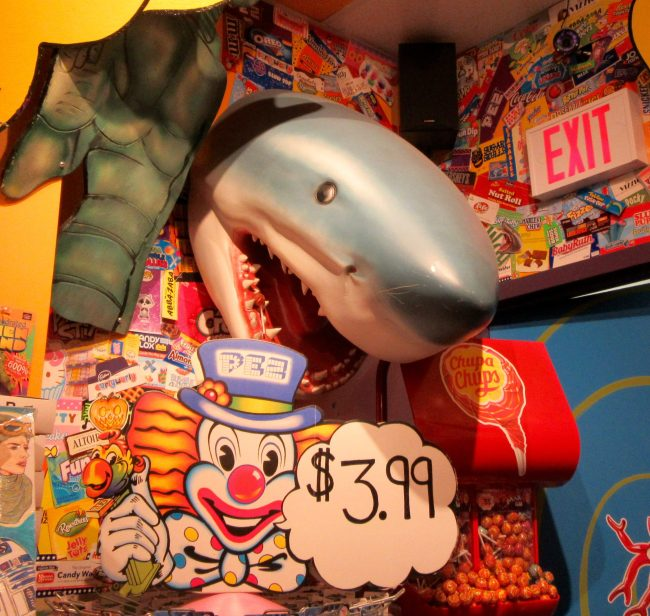 Shark Attack Candy Store Display