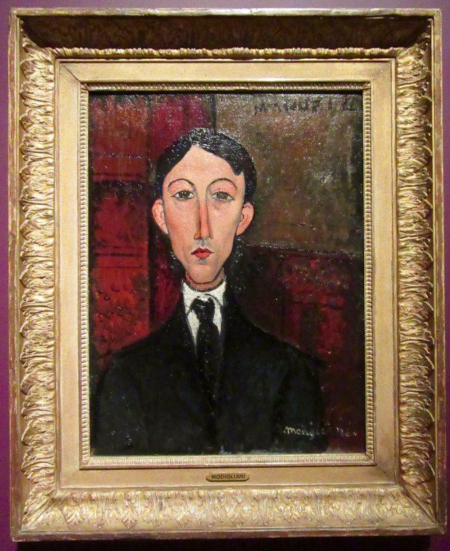 Portrait of Manuel Humbert