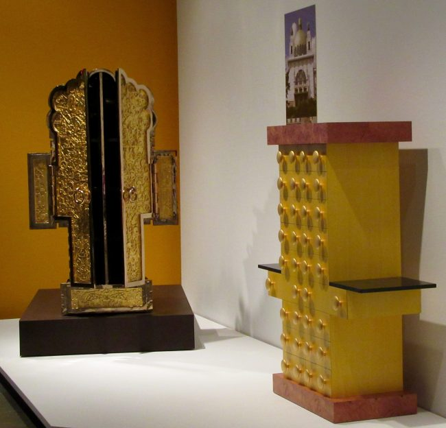 Ettore Sottsass Yellow Furniture