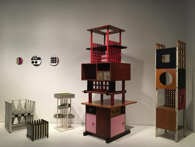 Ettore Sotsass Tower Cabinet Installation View