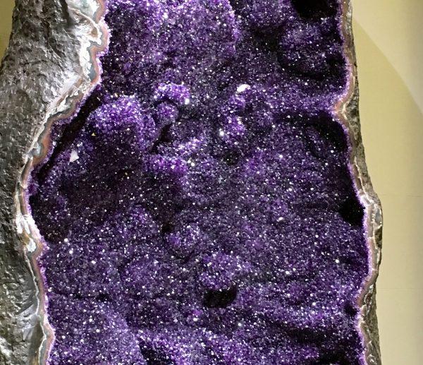 Amethyst Geode Detail