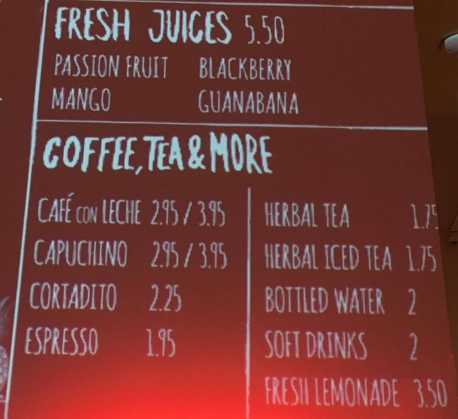 Juices Sign